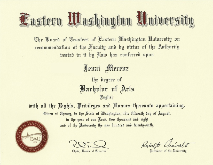 My Degree